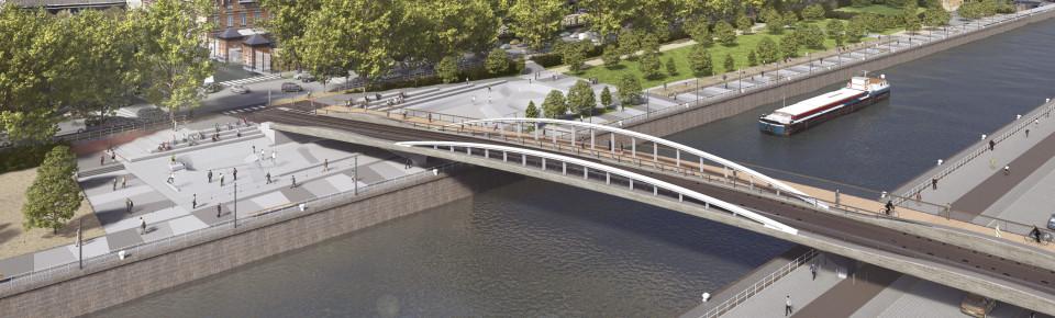Création du pont Suzan Daniel