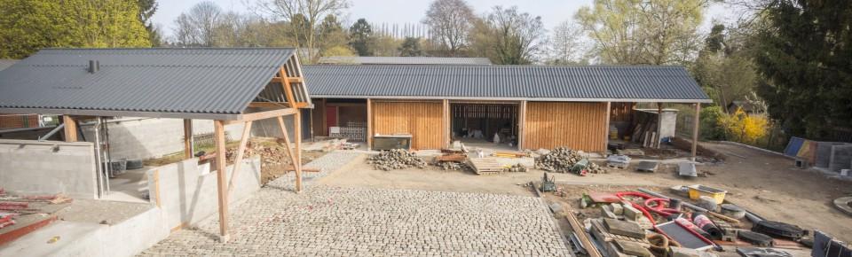 Construction de la Maison de la Nature